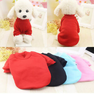 Small-Pet-Vest-Puppy-Clothes-Dog-Cat-T-Shirt-Princess-Outfit-Apparel-Costume-New