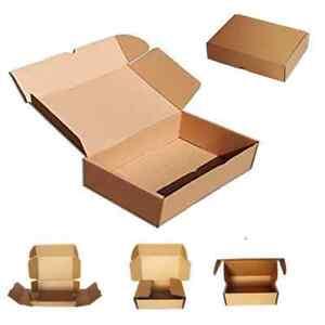 100 Cajas De Cartón Automontables Para Envíos Postales Embalaje 16