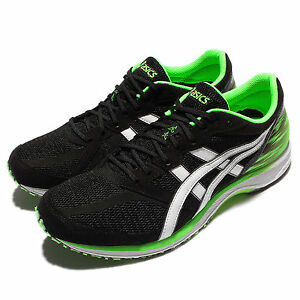 Détails : Asics Tartherzeal 5 Wide Black White Green Men Running Racing  Trainer TJR2899001