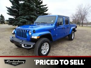 2021 Jeep Gladiator SPORT S 4X4              TOUSCHSCREEN STEREO  BACK-UP CAMER  BLUETOOTH  AIR CONDITIONING