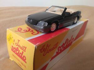 Miniatura-1-43-Solido-Mercedes-Benz-500-SL-de-1989-Reedicion-Hachette-Francia