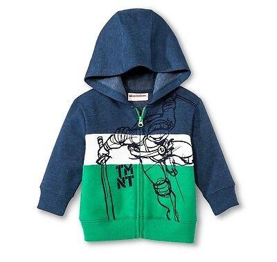 Thomas /& Friends Boys/' Full Zip Graphic Hoodie Jacket Blue Size 12M 18M