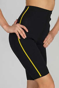 Details about NEOPRENE SLIMMING SHORTS Lose Weight Abdominal Warmer, Tummy  Tuck Workout Pants
