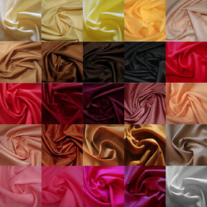 Pinks Browns /& Yellows Reds Top Quality Antistatic Dress Lining in 29 Colours