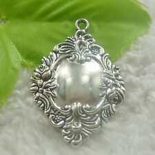 Free Ship 40 pieces tibetan silver Unicorn charms 33x30mm #543