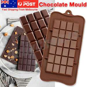 Chocolate-Mould-Bar-Break-Apart-Choc-Block-Ice-Tray-Silicone-Cake-Bake-Cook-Mold