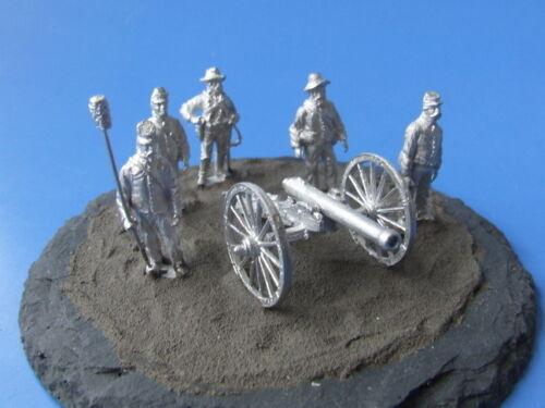 wartend Amerik CS-Artillerie 1:72 Bürgerkrieg Maßstab