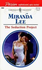Seduction Project  (Presents Passion), Miranda Lee, 0373120036, Book, Good