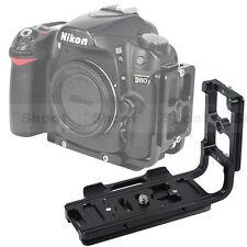 Vertical Shoot Quick Release L Plate Bracket for Nikon D7100 D7000 D3300 D3200