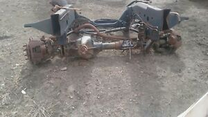 94 97 Dodge Ram 2500 3500 Dana 60 60f Front Axle Assembly 354 3 54 Ebay