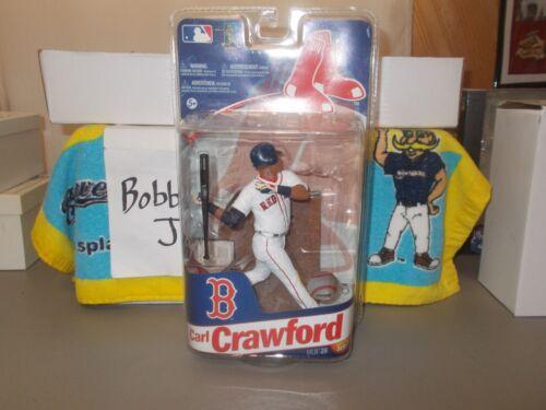 Neuf dans sa boîte Carl Crawford Boston RED Sox Série 28 McFarlane White Jersey
