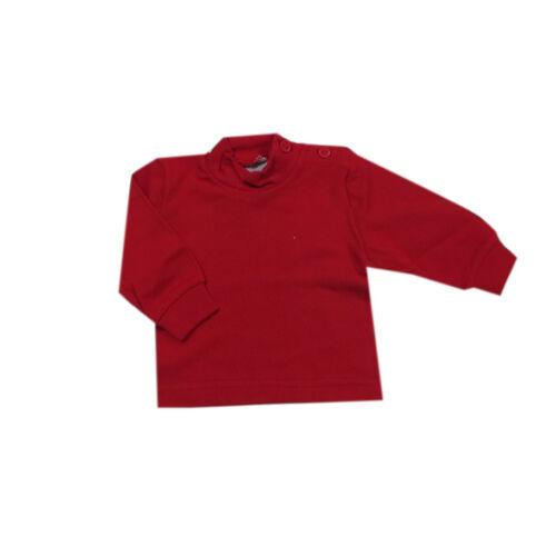 Kanz T-Shirt langarm Shirt Rot Blau Beige Gelb Baumwolle Weiss Gr.56,74,80