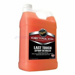 meguiars detailing products d15501 last touch auto spray detailer 1 gallon ebay. Black Bedroom Furniture Sets. Home Design Ideas