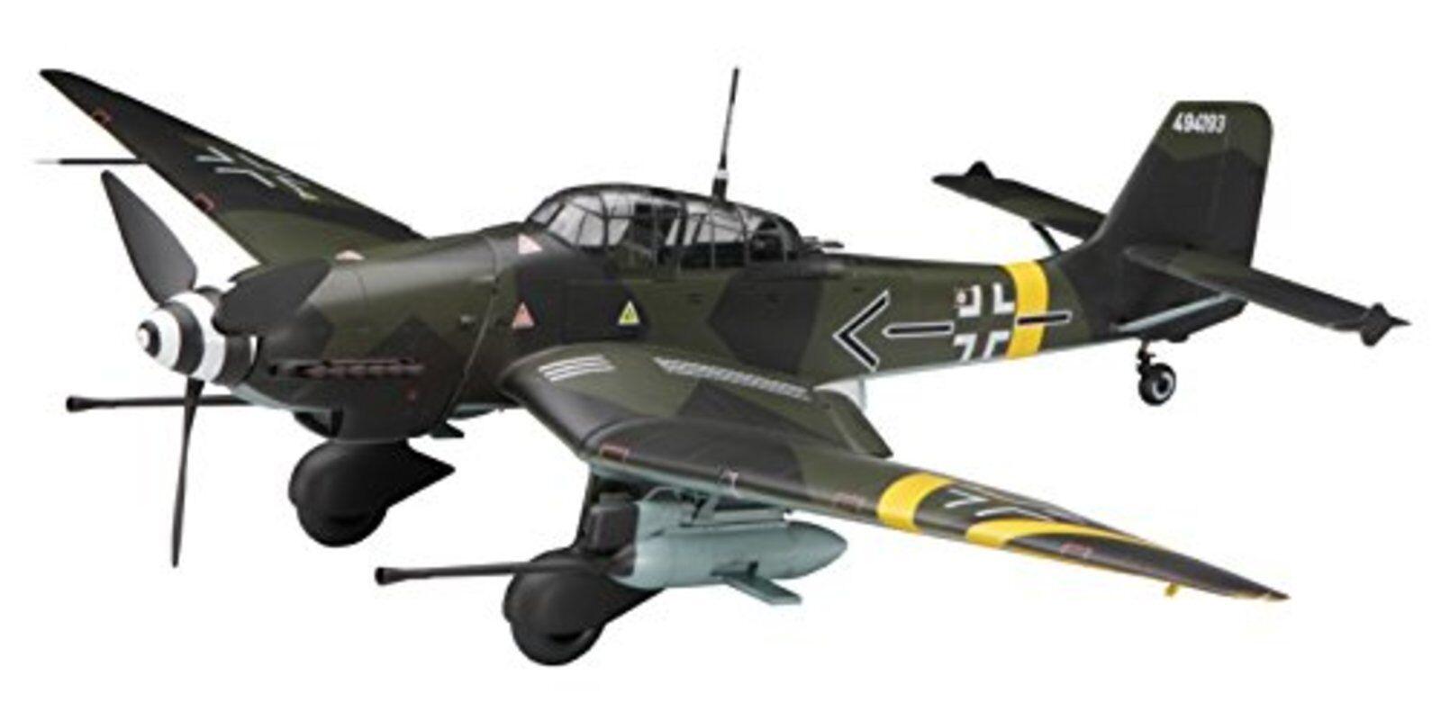Hasegawa 1 32 Luftwaffe Junkers Ju87g Stuka Kanonen Vogel Modelos Plástico St2
