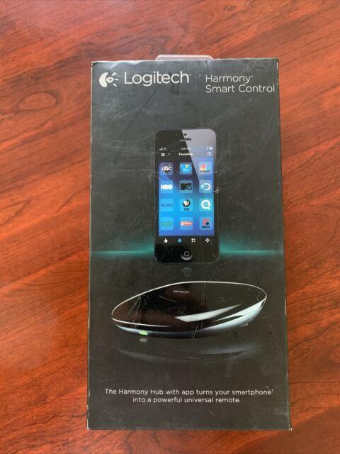 Logitech - Harmony Smart Control (Remote Control and Smart Hub) - Black