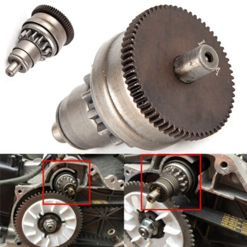 Starter Motor Clutch Gear Assembly For GY6 50//80cc 139QMB Scooter Mopeds ATV TO