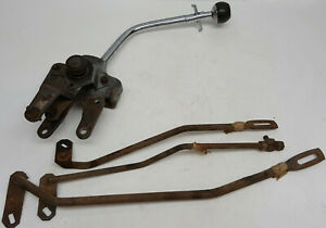 Original-1965-1966-1967-Mustang-4-Speed-Shifter-with-reverse-trigger-and-linkage