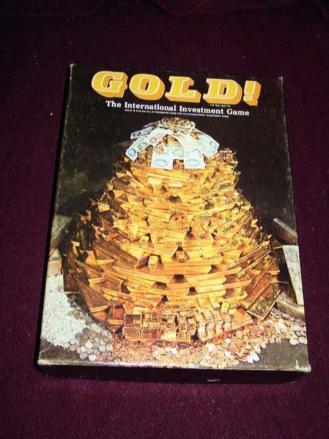 Avalon Hill 1991-Dorado-juego de los mercados financieros el precio de.. (ENLOMADOR)
