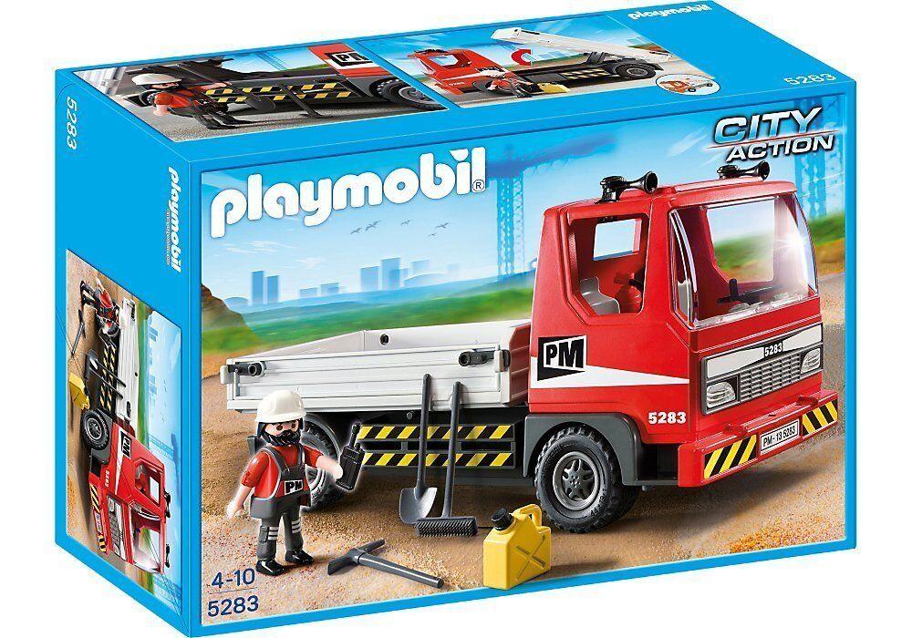 Playmobil City Action 5283. Camion de construction. de 4 à 10 ans