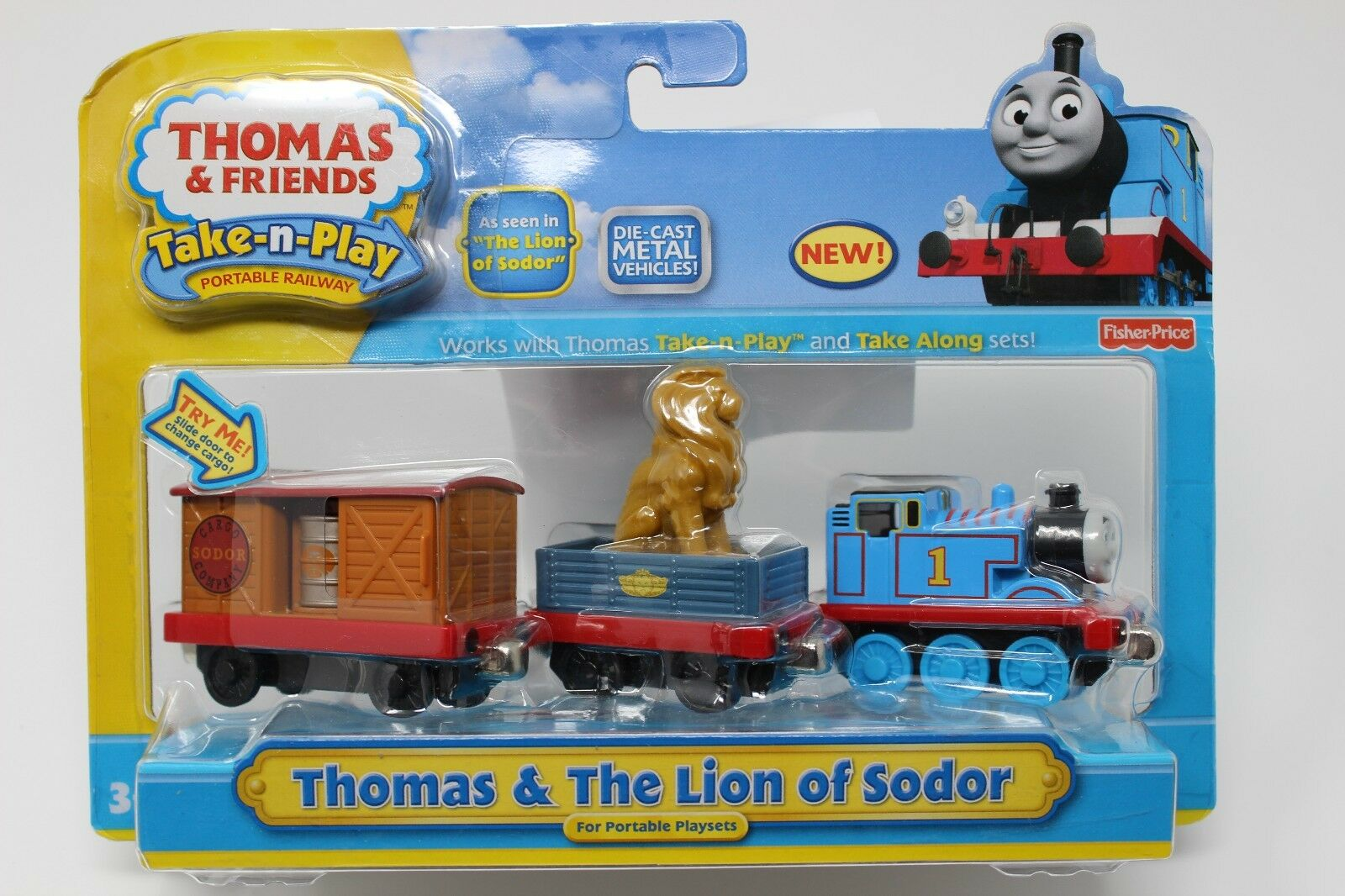 THOMAS AND FRIENDS TAKE N N N PLAY THOMAS AND THE LION OF SODOR 74cfe3
