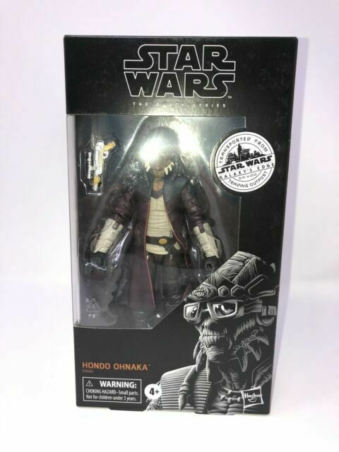 Star Wars The Black Series Hondo Ohnaka Toy Figure For Sale Online Ebay