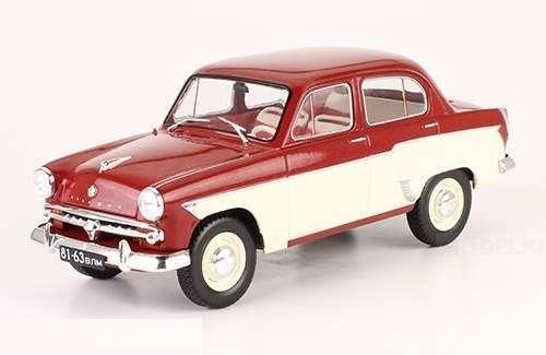 Moskvich-407 Scale 1 24 Hachette Diecast model car USSR