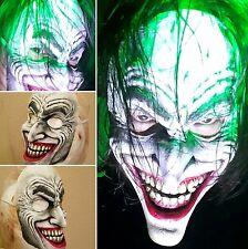 Limited Edition Joker Clown Prince Half Face Mask handmade/painted-Not Mass prod