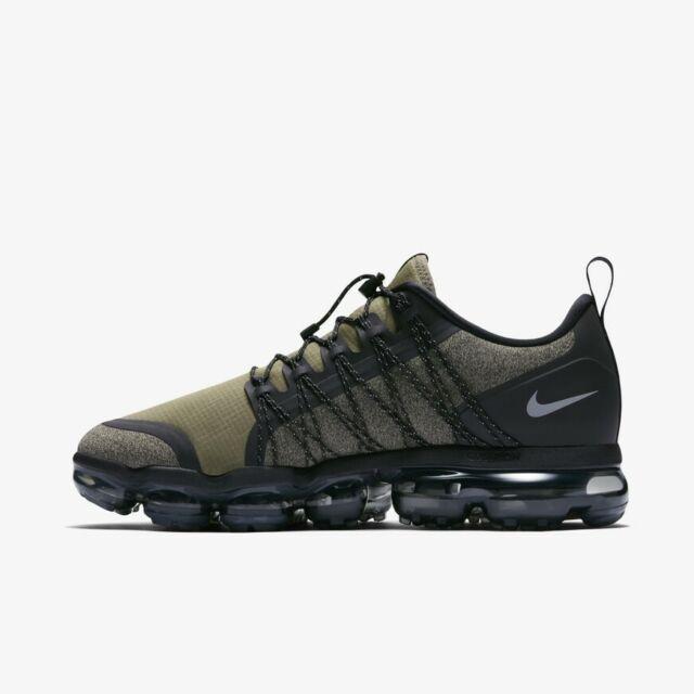 new style 02ad0 00334 Nike Air Vapormax Utility Medium Olive Green Running Shoes AQ8810-201 SZ  5-12