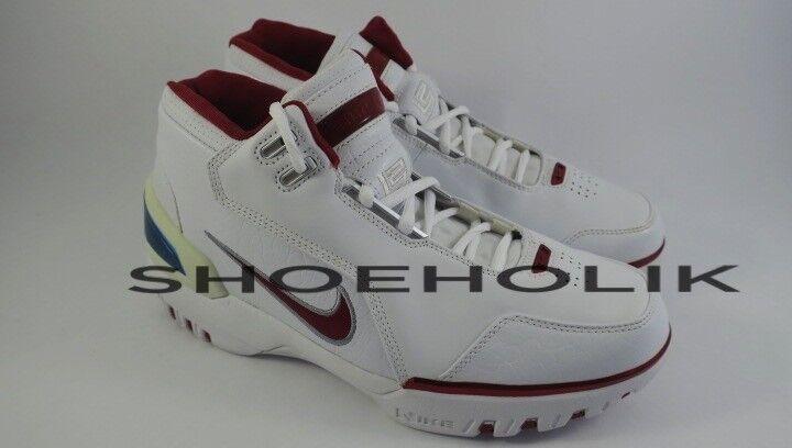 Brand New 2004 DS Nike Air Zoom Generation AZG White Crimson 308214 161 - size 9