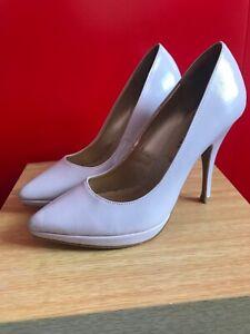 83a1e79bb11 Details about ladies light purple heels size 4