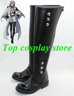 Owari no Seraph Seraph of the End Anime Krul Tepes Cosplay shoe boots shoes