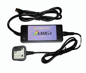 NEU starke 57w PSU Netzteil für Amiga cd32 32 + Stromkabel UK IRL EU