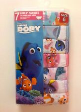 Disney Girls Finding Dory 7 Pack Panty