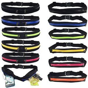 Waist-Running-Pocket-Zip-Belt-Lycra-Bum-Bag-Hiking-Cycling-Jogging-Travel-Pouch