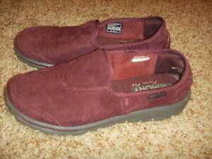 Skechers GoWalk Form Fit Burgundy Shoes