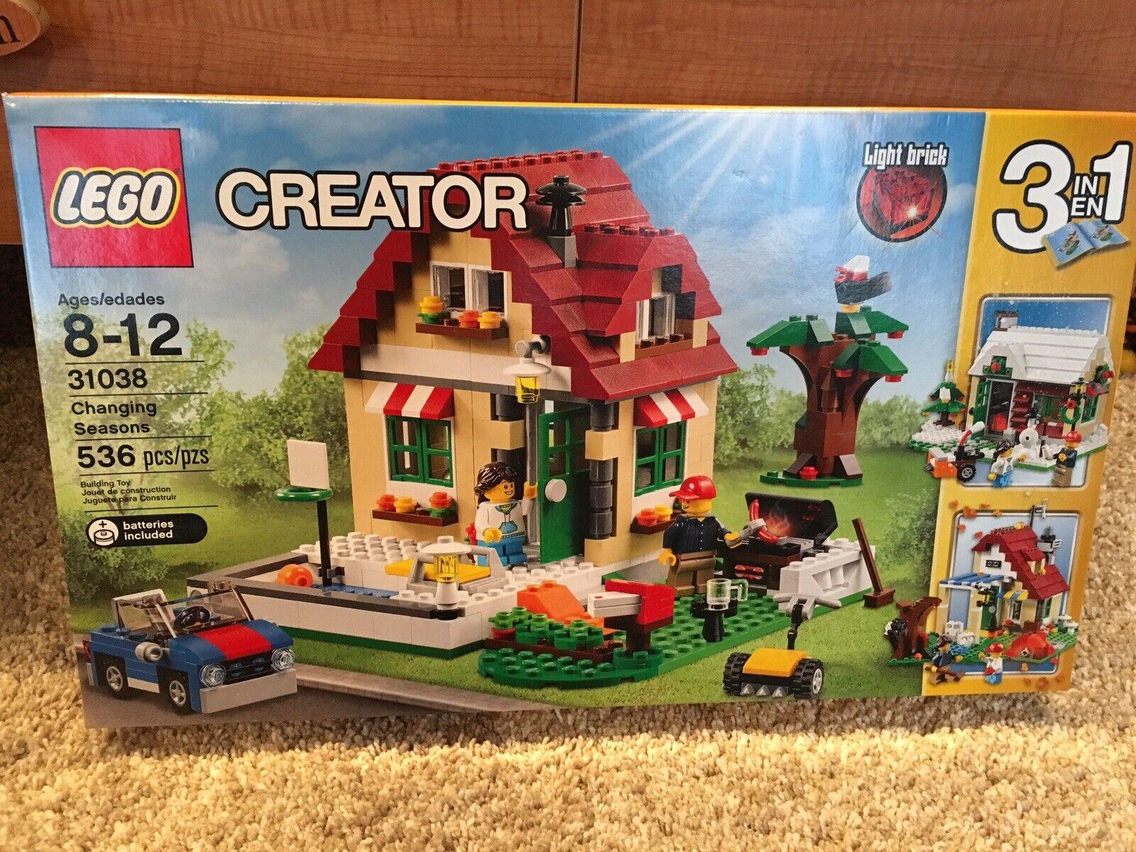 LEGO 31038 Changing Seasons, Bre nuovo In Sealed scatola   Retirosso Set
