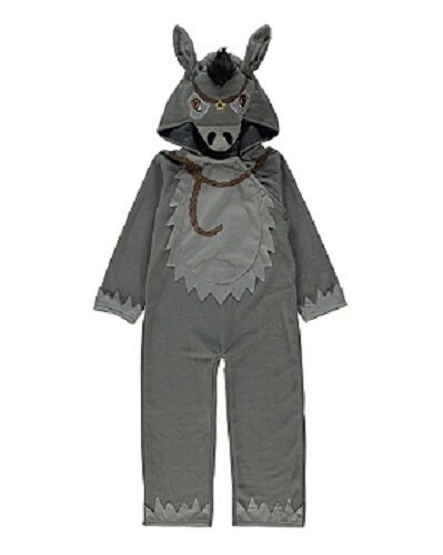 New Donkey nativity xmas christmas boys fancy dress outfit dressing up costume