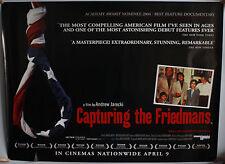 CAPTURING THE FRIEDMANS QUAD FILM POSTER
