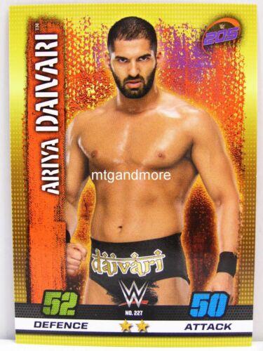 #227 Ariya Daivari 10th Edition Slam Attax