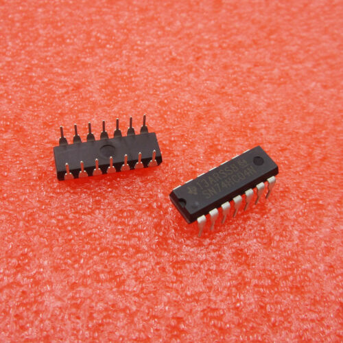 10PCS SN74HC04N DIP 74HC04N 74HC04 Hex inverter Good Quality