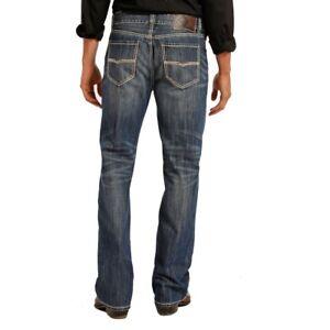 Rock Roll Denim Men S Double Barrel Straight Jeans M0s8553 Ebay