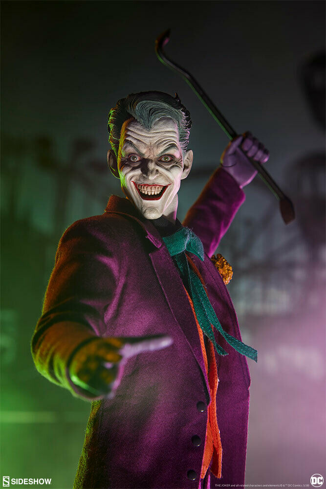 Sideshow DC Comics The Joker 1 6 Scale 12  Collectible Action Figure In Stock