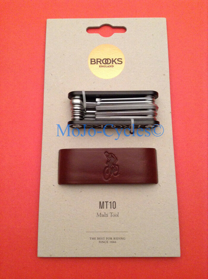 Herramienta múltiple Brooks MT10 Con Funda Cuero 2,  2.5, 3,4,5,6,8mm Hex Llaves, Etc...  calidad oficial