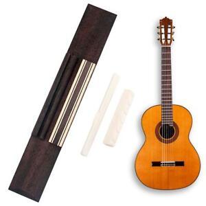 Rosewood-Guitar-Bridge-Cattle-Bone-Guitar-Nut-Saddle-for-Classic-Guitar-Kits