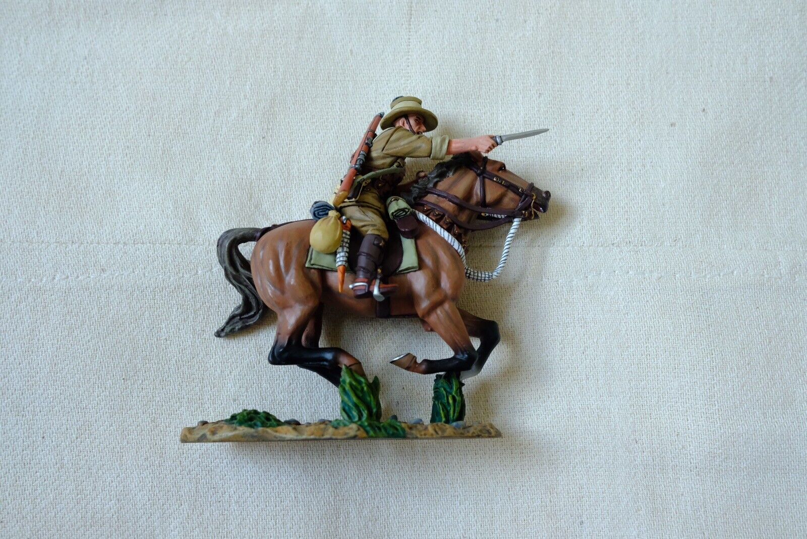 King And Country Australian Light Horse Horse AL39 The Charger Soldier