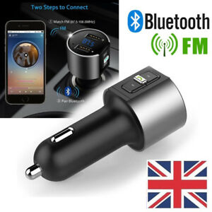 USB-Car-Bluetooth-FM-Transmitter-Wireless-Radio-Adapter-Charger-With-MP3-Player