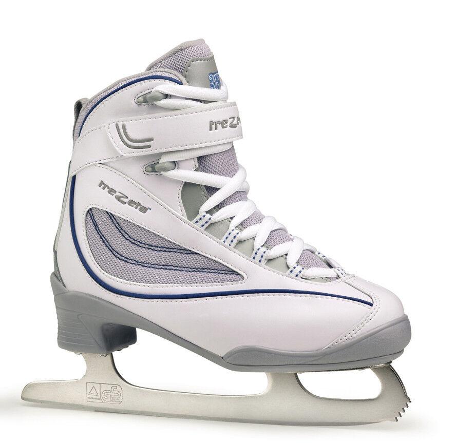 Trezeta women White Figure Skating-Unisex-Size 37 Ice Skating Softboot   a lot of surprises