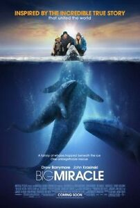 BIG-MIRACLE-2012-orig-2-sided-27x40-movie-poster-KRISTEN-BELL-whales
