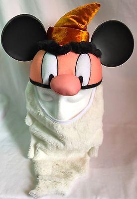 Disney Parks Grumpy Dwarf w/ BEARD (Snow White Seven Dwarves) Ear Hat Cap