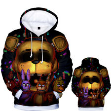 Anime Five Nights at Freddy/'s Unisex Sweater Sweatshirts Casual Hoodids Coat #30
